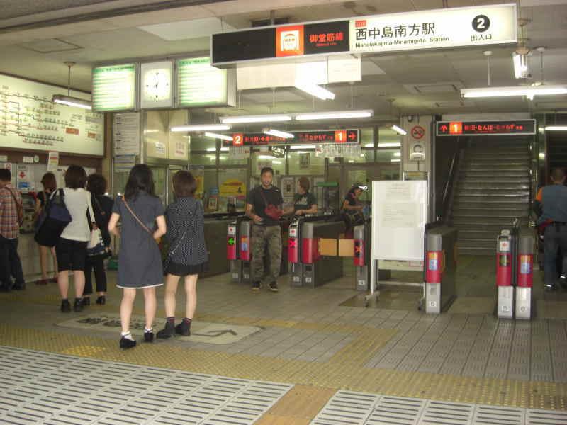 御堂筋線「西中島南方」駅-2